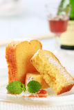 Pound cake Stock Photo