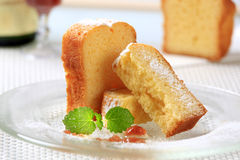 Pound cake Stock Image