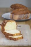 Pound Cake on Cutting Board 3063 Stock Photo