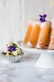 Pound cake - Easter cake Royalty Free Stock Photo