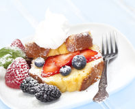Pound cake royalty free stock images