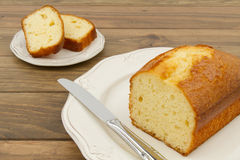 A pound cake Royalty Free Stock Photo