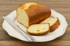 A pound cake Royalty Free Stock Images
