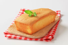 Pound cake Royalty Free Stock Images