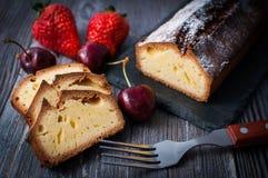Pound cake Stock Photography