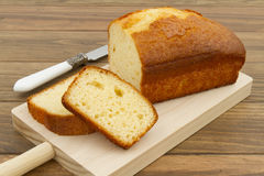 A pound cake Stock Photos