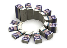 Pound Chart Stock Image