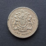 1 Pound coin Royalty Free Stock Photography