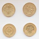 Pound coin Stock Photos