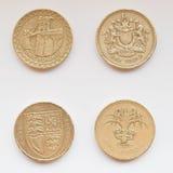 Pound coin Royalty Free Stock Photos
