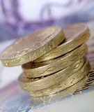 Pound Coins Stock Photos