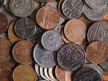 Pound coins Stock Photos