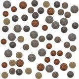 Pound coins collage Stock Photos
