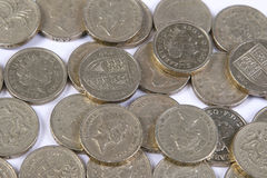 Pound coins Stock Photography