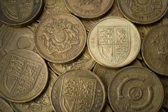 Pound Coins Stock Image