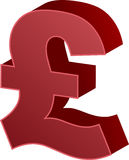 Pound currency Royalty Free Stock Photos