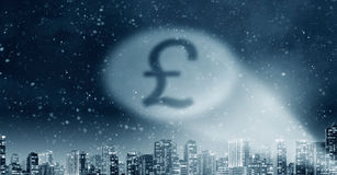 Pound currency symbol Stock Photos