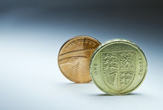 Pound in front Stock Photography