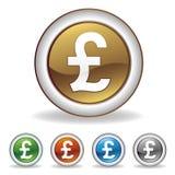 pound icon Stock Image