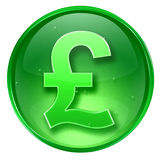 Pound icon Royalty Free Stock Photography