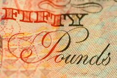 Pound Note Stock Photo