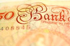 Pound Note Stock Images