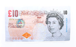 10 pound note. Stock Image