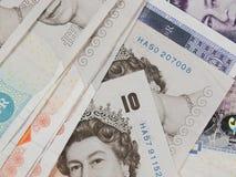 Pound notes Royalty Free Stock Image