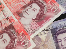 Pound notes Stock Images