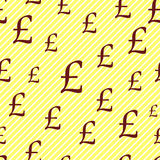 Pound pattern. Stock Photography