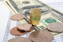 Pound rate. Royalty Free Stock Photography