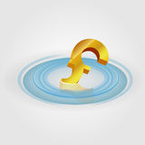 Pound Ripple Currency Stock Photo