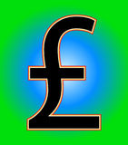 Pound Sign 3 Royalty Free Stock Images