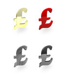 Pound Signs Stock Photo