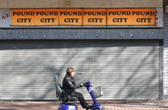 Pound-Stadt Stockfotografie