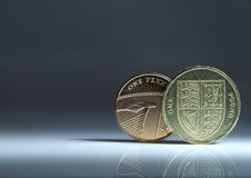 Pound starts with a penny Royalty Free Stock Images