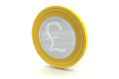 Pound Sterling Coin Royalty Free Stock Photos