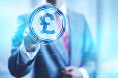Pound Sterling concept Stock Photo