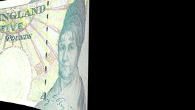 Pound Sterling Transition stock footage