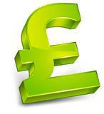 Pound symbol Stock Photography