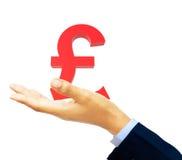 Pound symbol Stock Photography