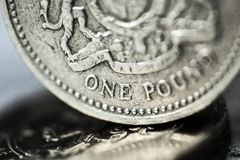 Pound Symbol. One Pound Coin British Currency Currency Coin British Coin Home Finances Stock Images