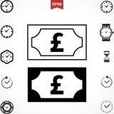Pound Vector Icon Stock Image