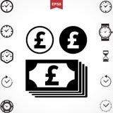 Pound Vector Icon Stock Photo