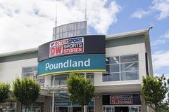 Poundland 免版税图库摄影