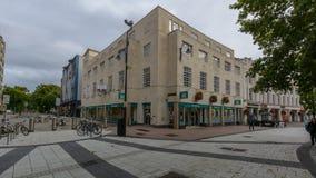 Poundlandwinkel Cardiff royalty-vrije stock fotografie