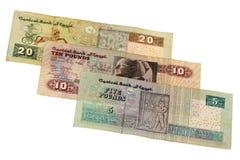 Poundrechnung von Ägypten Lizenzfreie Stockfotografie