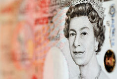 Pounds note - £50 Stock Photography