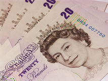 Pounds sterling #2. Uk pounds sterling Royalty Free Stock Photography