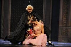 Poupée cassée, casse-noix triste-Le de ballet de Clara Photo libre de droits